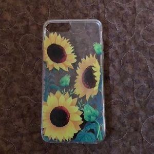 Accessories - Sunflower iPhone 8 Plus case🌻